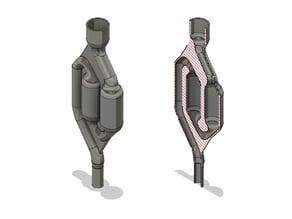 Spiralised Airlock / Barboteur