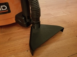 Floor sweep attachment for Ridgid shop vacuum