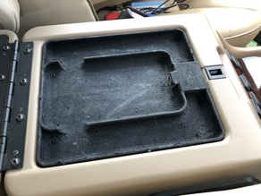 Land Rover Discovery 2 Cubby Box Phone Tray