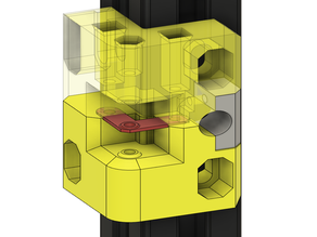 v.2: Double sided robust and reliable XY Idlers Mount for Hypercube Evolution