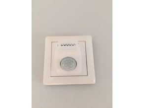 PIR/Temp Sensor (HC-SR501/BME280) Einsatz für Gira Schalterrahmen