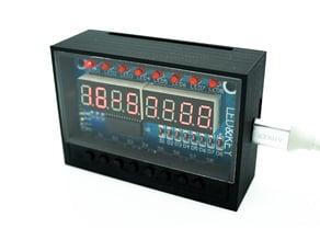 LED&KEY TM1638 Module Case