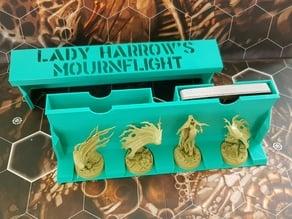 LADY HARROW'S MOUNRFLIGHT, BEASTGRAVE STORAGE, Calibration tool for Warhammer Underworlds