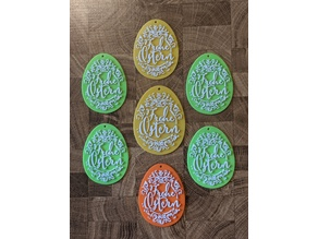 Osteranhänger / Easter egg decoration