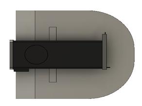 iMac G3 casemod: GPU bracket