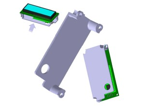 Cover for LCD1602 display