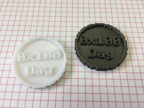 Programmer's day coin