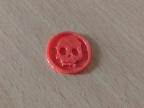 Skull coin