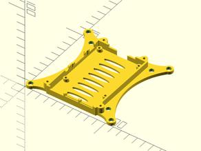 Raspberry Pi 3 100mm and 75mm VESA mount (remix) for M5 screws