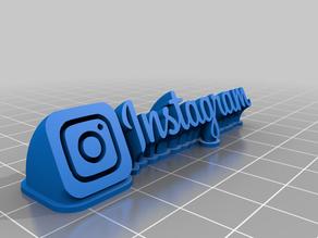 IG 3D logo Instagram