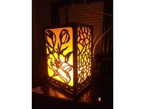 Battery Powered LED Flame Bulb Lantern