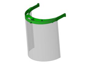 Reusable Face Shield Frame