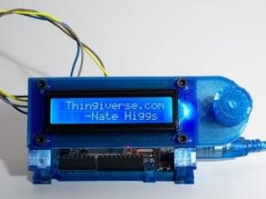 Arduino Uno Slider w/ 2x16 LCD