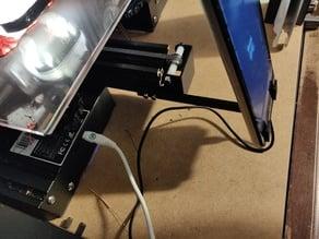 Ender 3 Pro Front Cellphone Webcam Mount