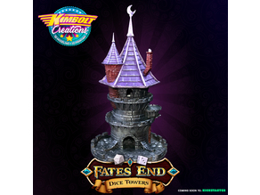 FATES END - DICE TOWER - FREE WIZARD TOWER!