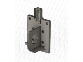 Hypercube linear rail BMG Aero/Mellow Wind mount