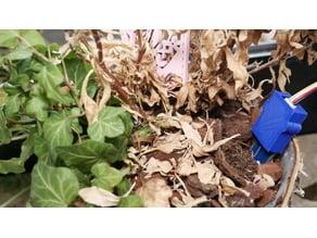 Capacitive soil moisture sensor housing