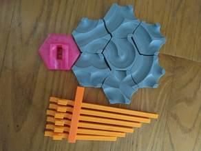Gravitrax insert for basic tile 2