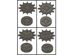 Factions Symbols (Warhammer Ago of Sigmar, AOS)