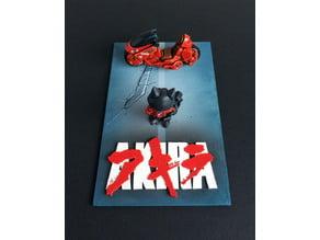 Akira poster diorama (base only)