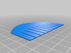 Sliceform Saddle (Hyperbolic Paraboloid)