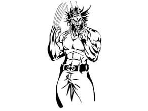 Wolverine Stencil 2.1