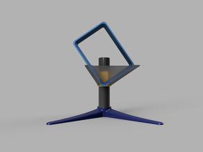 Modular vertical stand