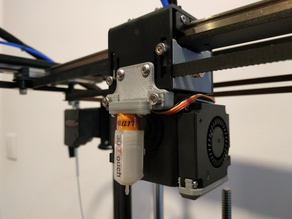 Sapphire Pro Carriage Support + BLTouch Mount
