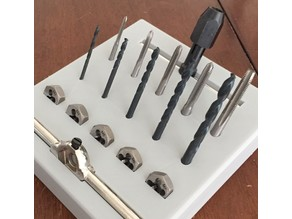 Metric - Drill, Tap, and Thread Tool Holder