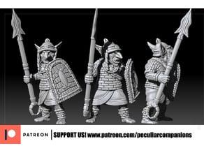 Goblin Spearmen - tribal african
