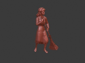 Sweeping Villager