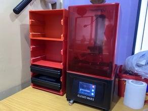 4bay/6bay Storage Box for Elegoo Mars/Pro Resin Vat