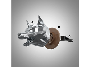 Timber wolf car diffuser