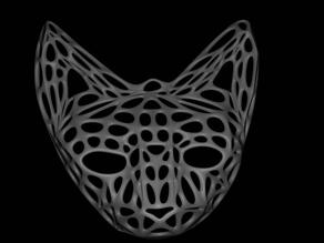 Voronoi cat head