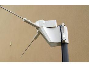 V-dipole antenna construction set