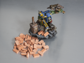 Warhammer brick mold