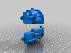 Parallax Cyber:bot omnidirectional rear ball mount