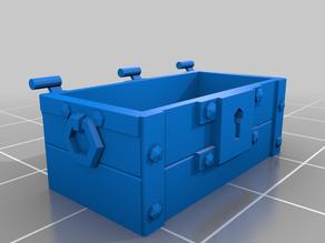 Wood Chest modular Loot Trap