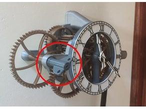 Alternate Winding Key for Easy Build 32 Day Skeleton Clock