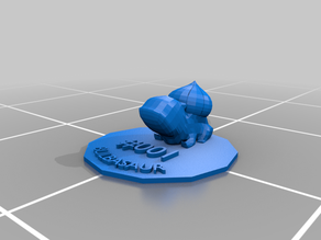 Bulbasaur - No supports, base