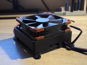 External Ender 3 electronics enclosure (120mm fan + filter)