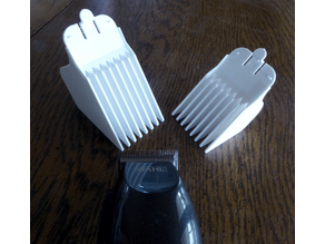 Wahl Clipper Guides 12 and 16  (1.5 inch/37mm and 2 inch/50mm)