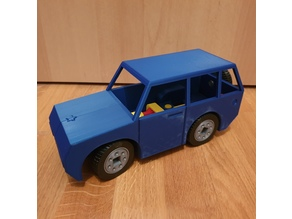 SUV with Steering