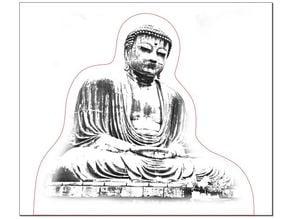 Kōtoku-in - Kamakura Buddha - Laser Engrave