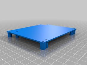 MKS Robin mini to SKR 1.3 mounting plate