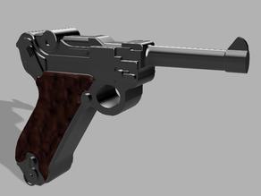 Playmobil Compatible Luger P08 Pistol V2