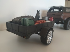 Trailer for WPL C24 1:14 Toyota Hilux