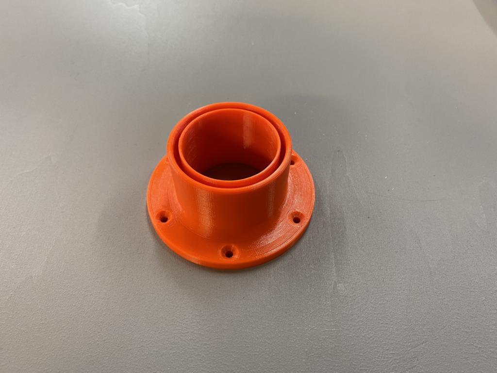 Festool Hose adaptor for flat surfaces