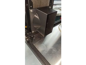 Adapter Fan 120mm to 110x55 exhaust duct
