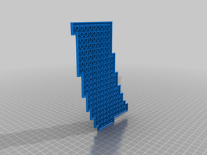 Brick Compatible curved Train Tracks Adapter